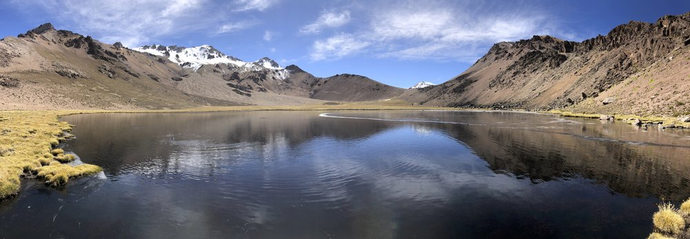 Laguna Atla in Lauca National Park in Chile