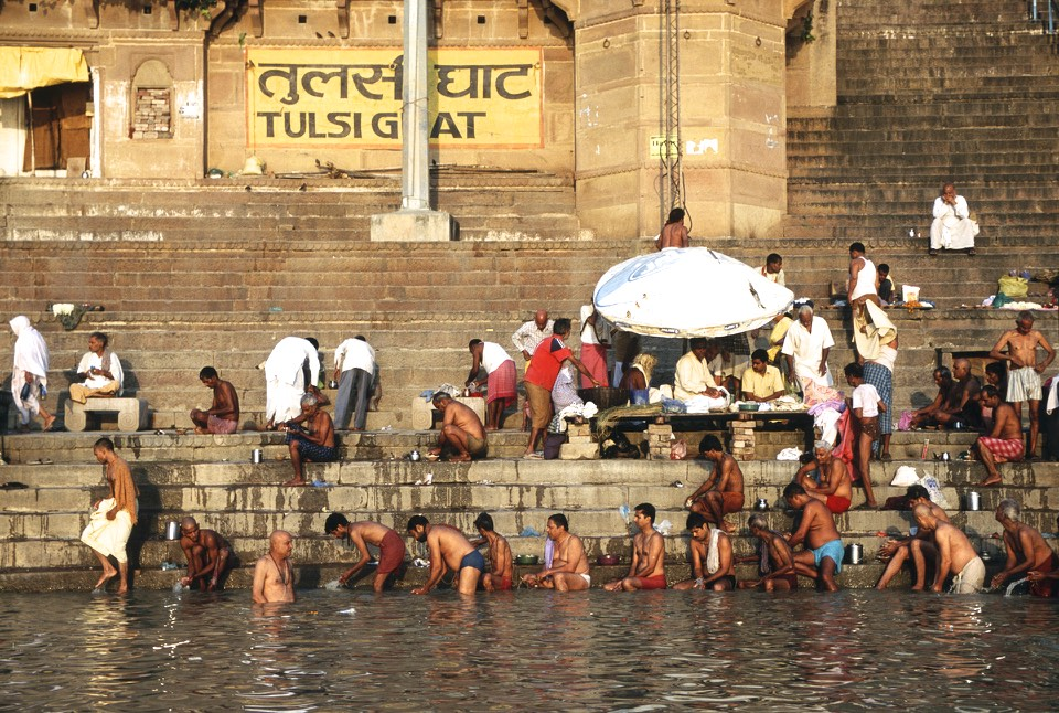 Holy Ganga in Varanasi
