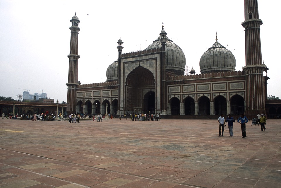 Main Mosque in New Delhi