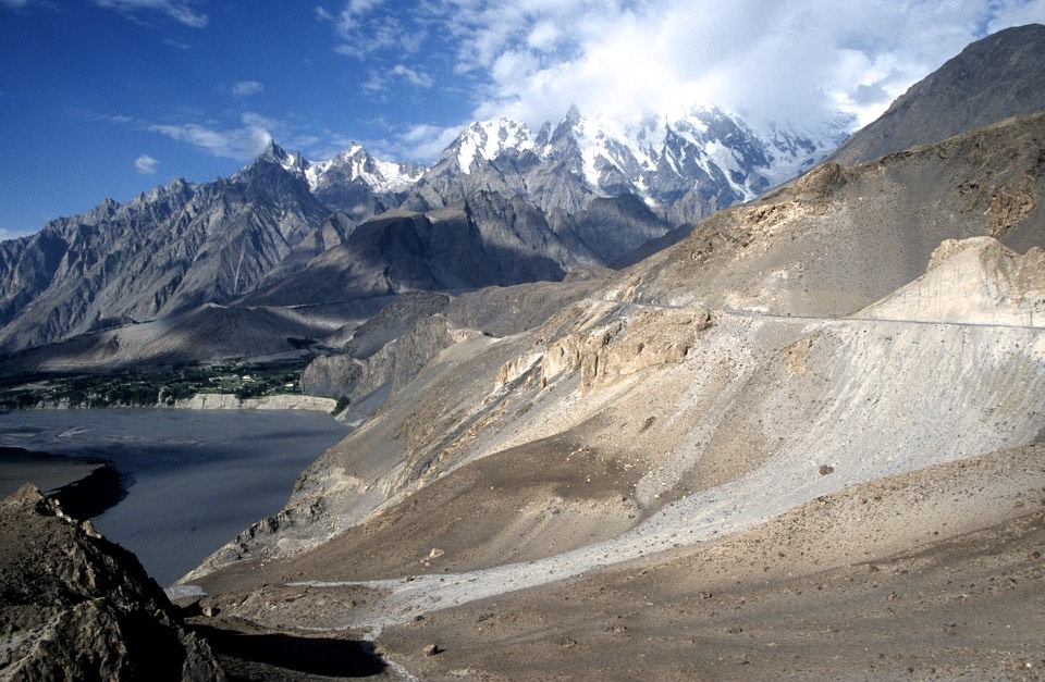 Karakoram Highway from Sost to Kunjerab Pass