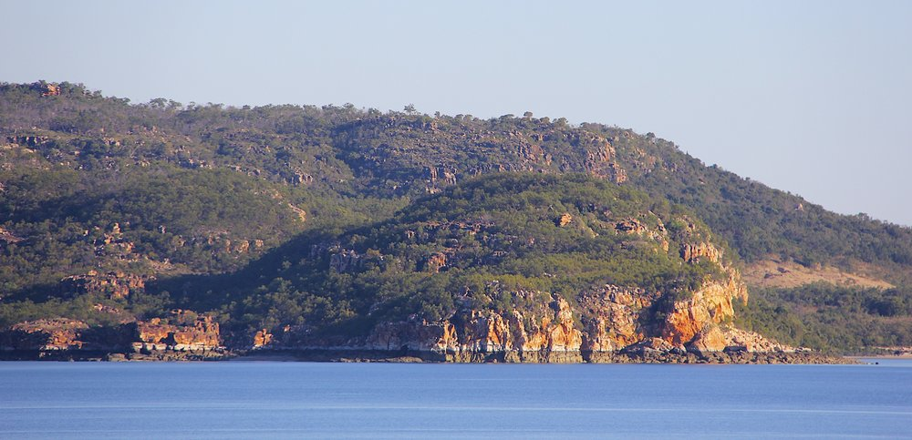 The coast of Kimberly near Broome