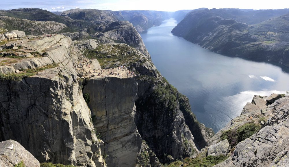 The Pulpit Rock and Lysefjord near Stavenger