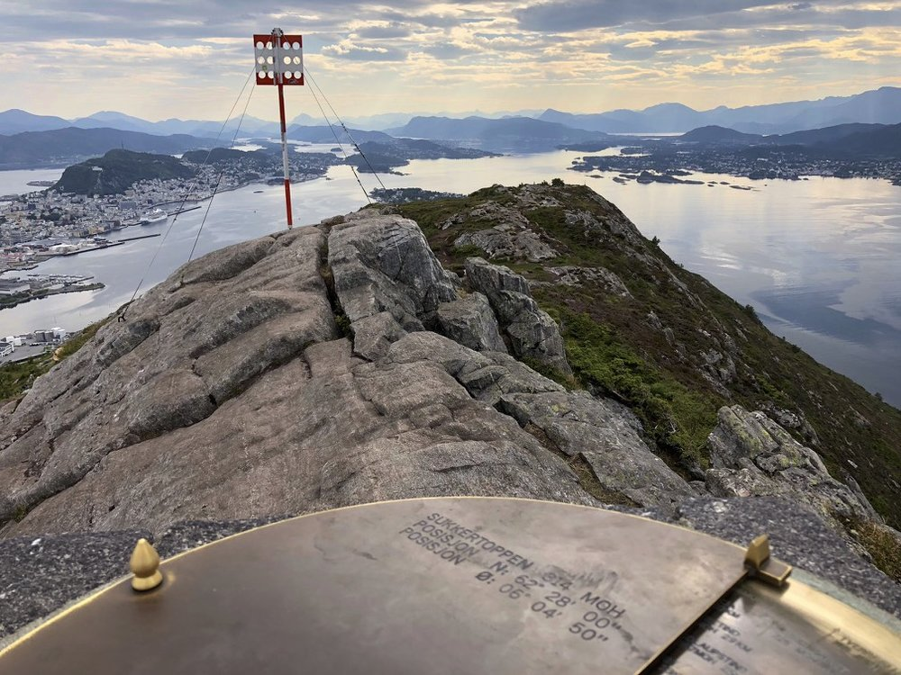 Sugerloaf Mountain in Aalesund