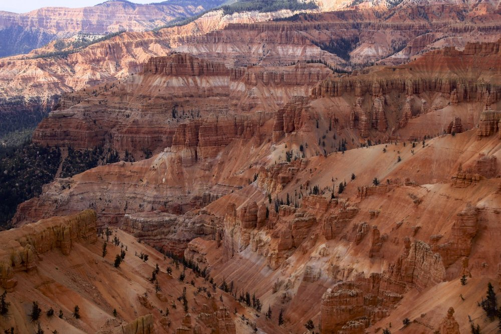Cedar Breaks at 10,000 ft elevation