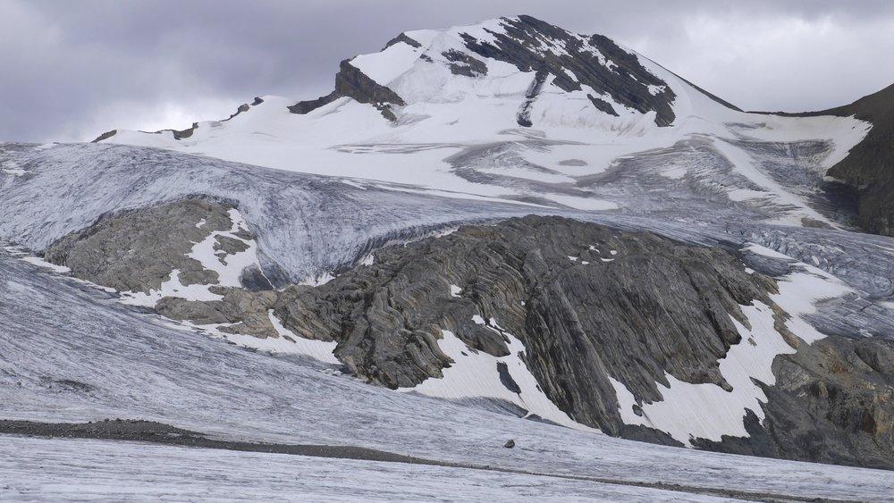 Mt. Rhonda ont he Wapta Icefield