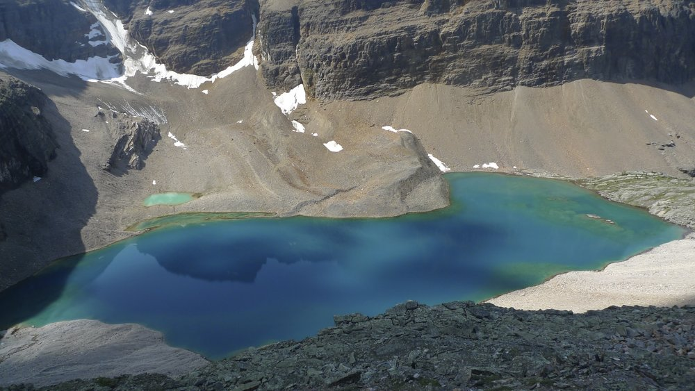 Lake Oesa in the Lake Ohara area