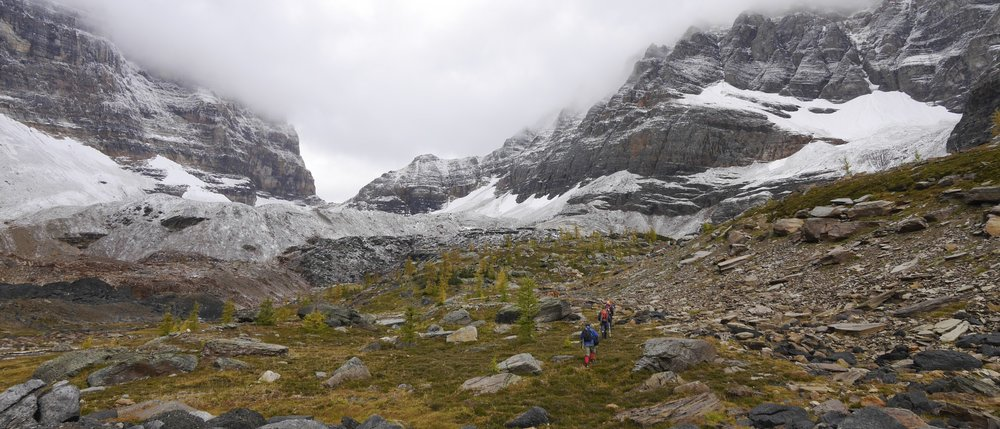 Moraine Lake to Lake Ohara traverse