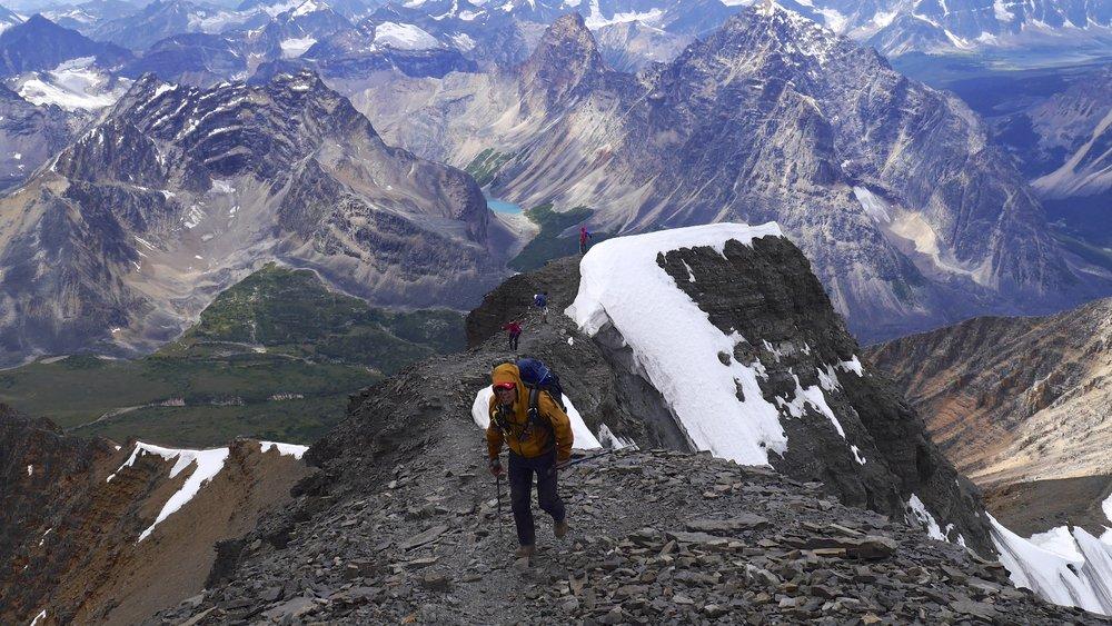 Climbing Mt. Edith Cavell