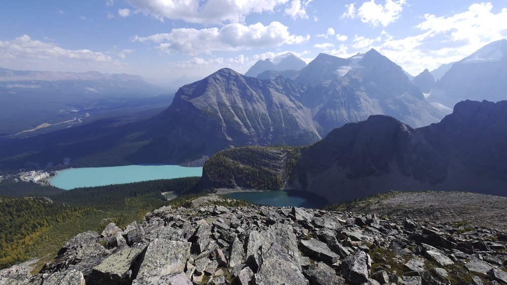 Lake Louise from Mt. Sanit Piran