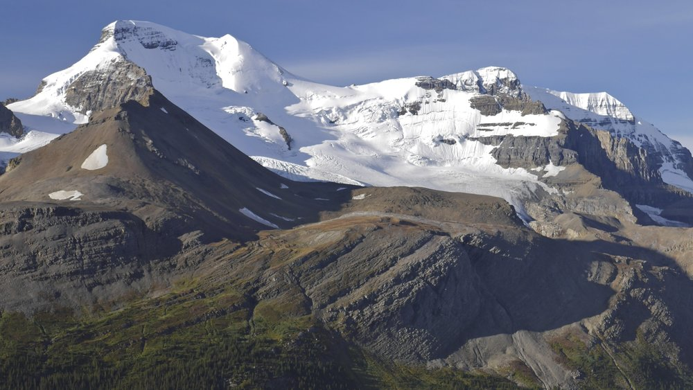 Mt. Athabasca and Mt. Andromeda