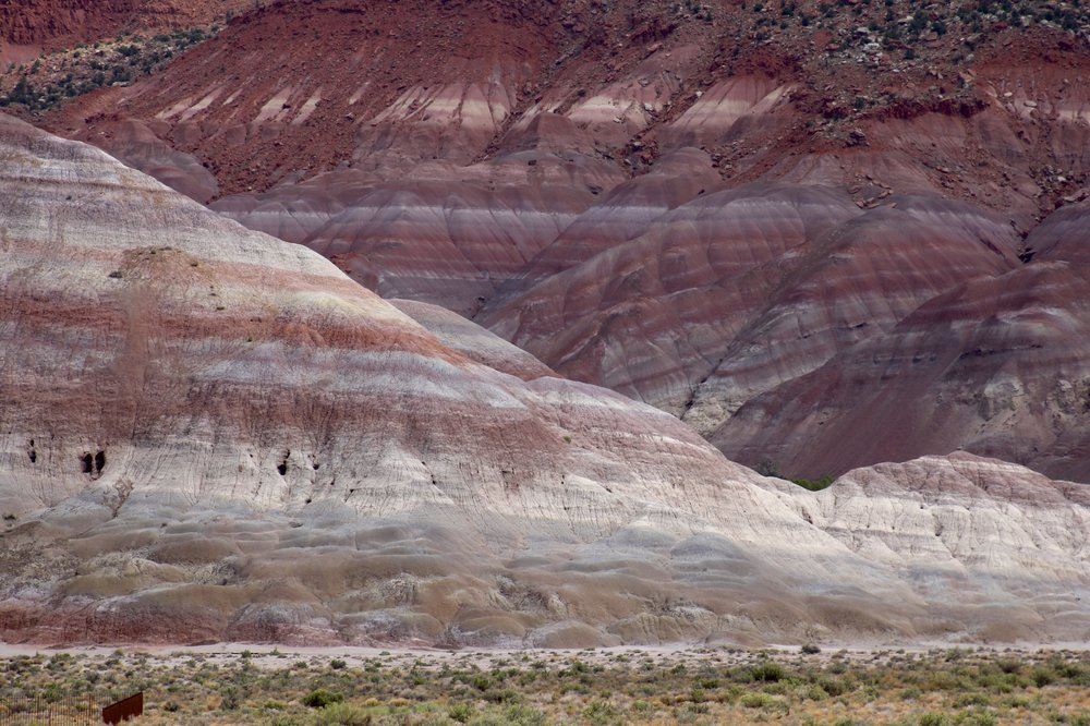 The badlands of the Paria Wilderness/Escalante