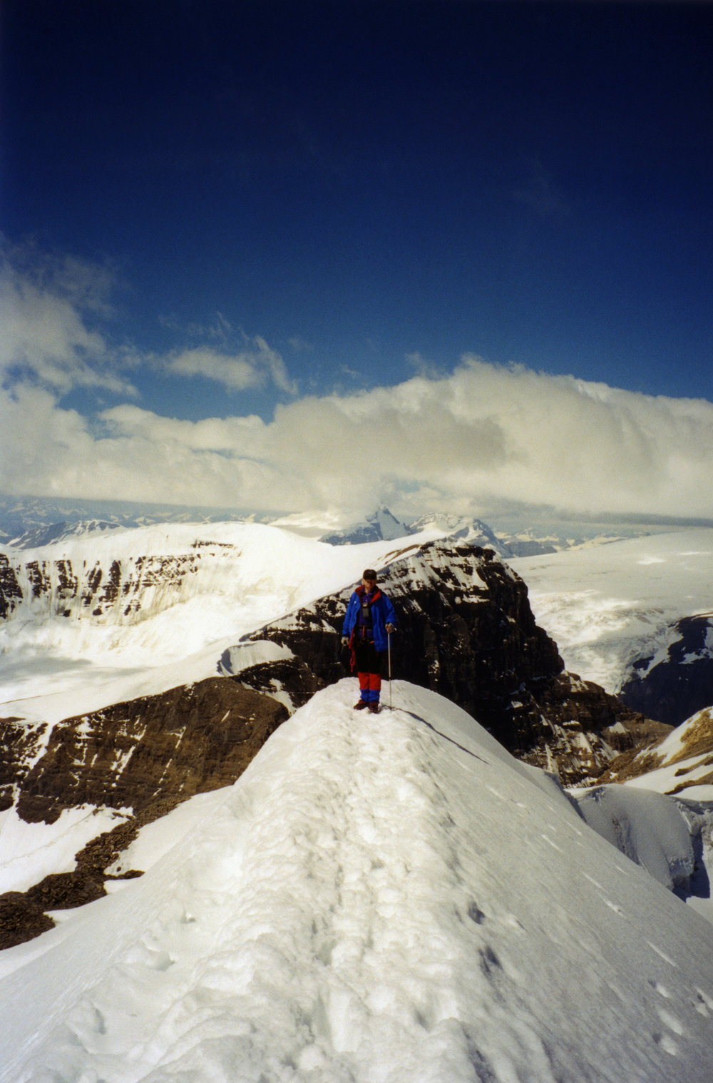 Mt. Athabasca summit