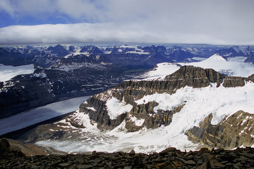 Saskatchewan Glacier from Mt. Athabasca