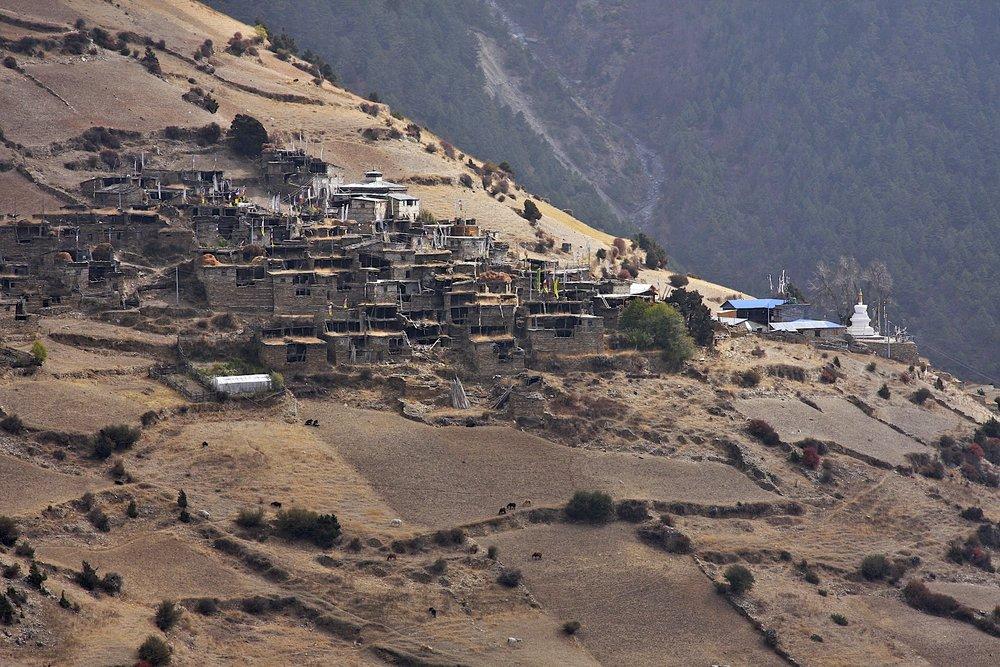 Upper Pisang Village