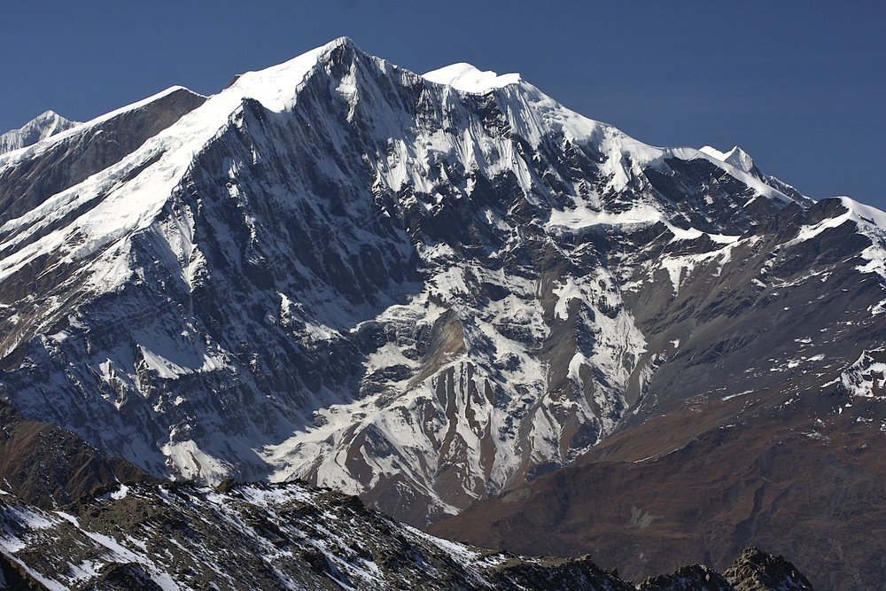 Tukche Peak next to the Dhampus Pass