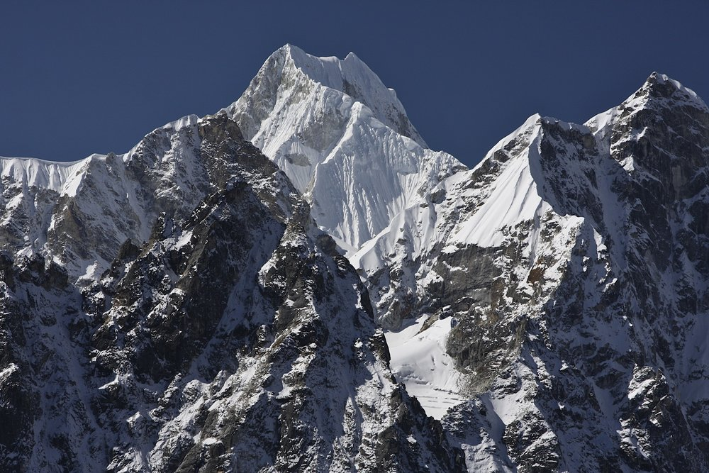 Mt. Menlungtse in Tibet