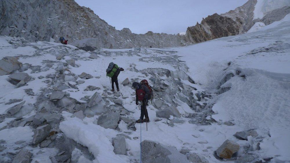 Approaching Sherpani Col.