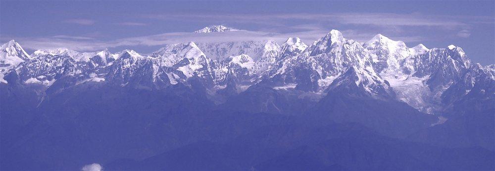 The Langtang Range