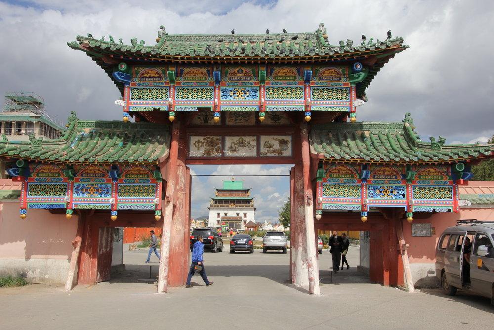 Gaydan Temple UB