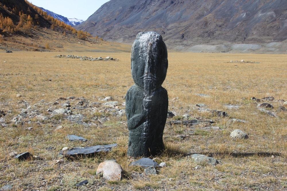 Mysterious gravestones