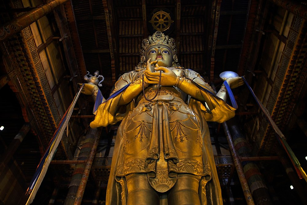 We already have a great tall Buddha, but wait…