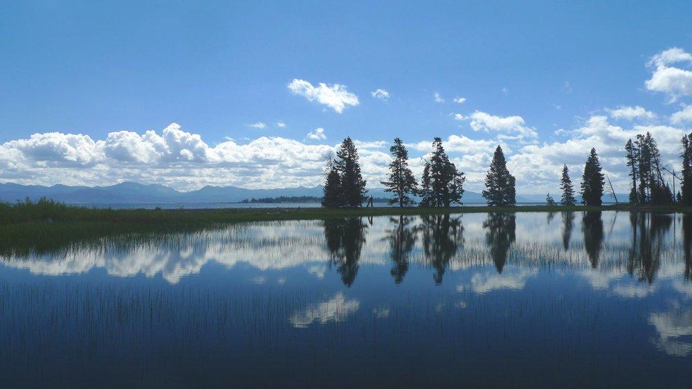 The Yellowstone Lake