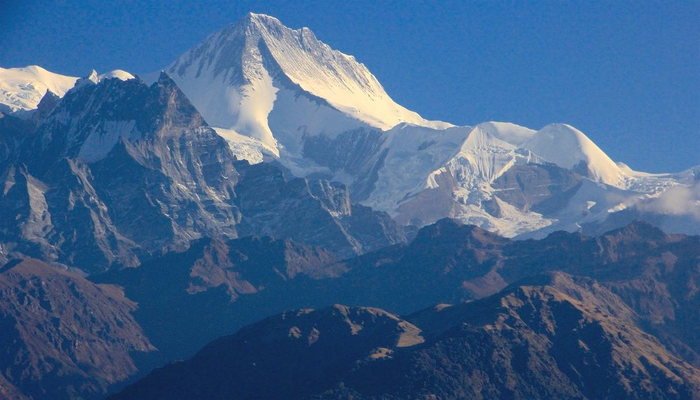 Annapurna II - almost 8,000m high