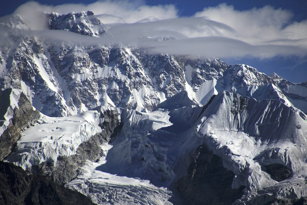 Shishapangma 8,013m is the only 8,000m mountain located entirely in China's Tibet
