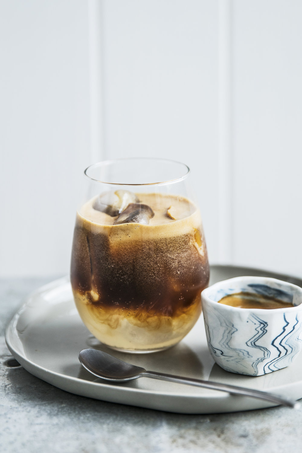 Specialty Coffee - We offer some fun stuff along side the classics, like our Espresso Dark and Stormy with ginger beer, orange and two shots of espresso.