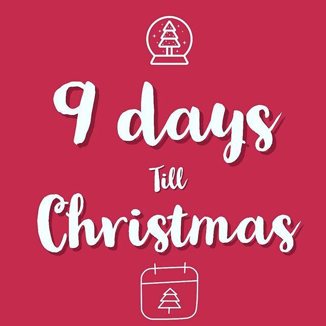 9 days till the big day! How far along your Christmas shopping are you? #shoppingseason #homiemb #shop #christmas
