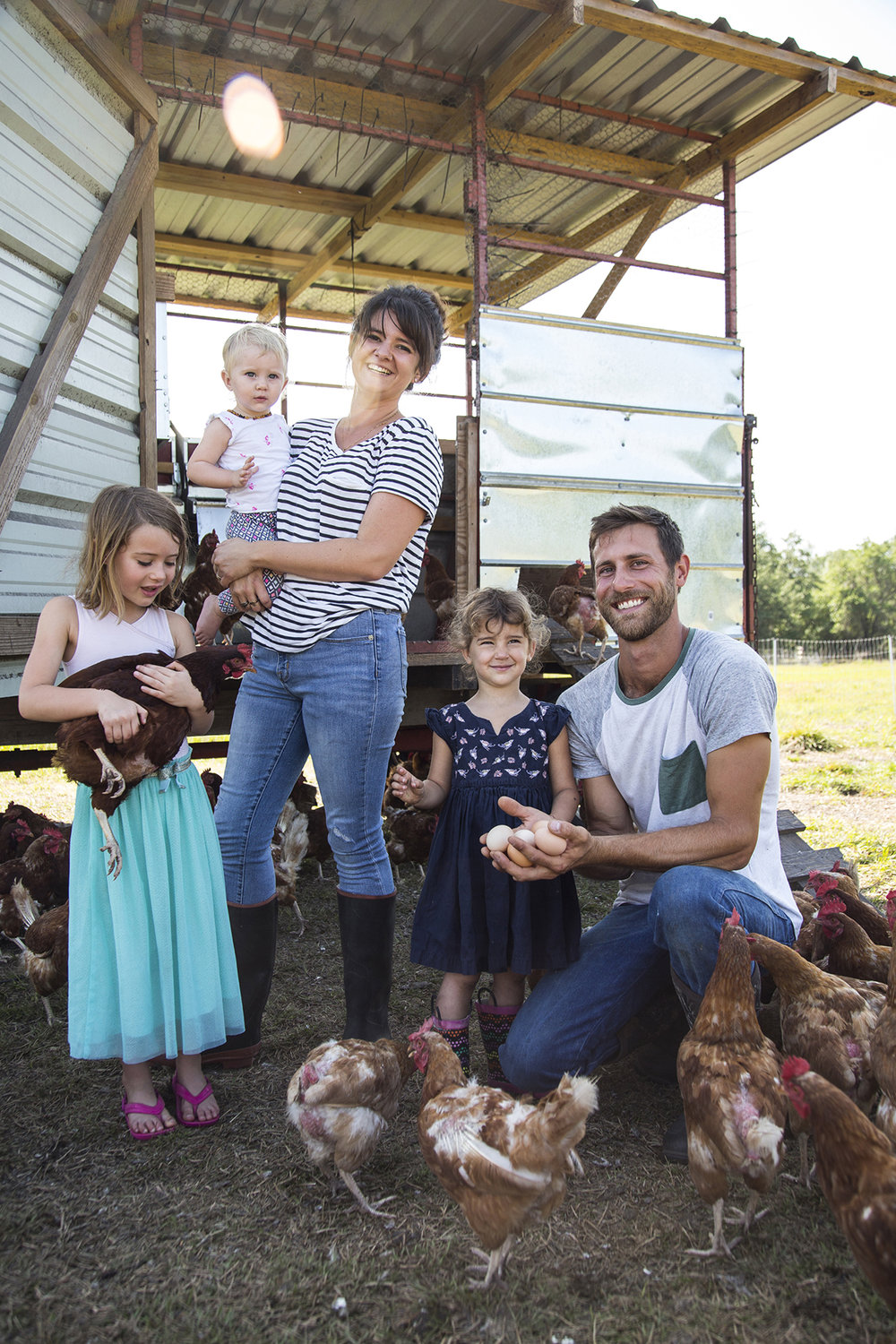 Grove Ladder Farm family