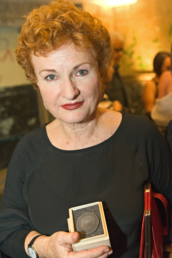 2013 Visual Arts Medal recipient, Julie Ewington. Photo credit - © Mick Richards.