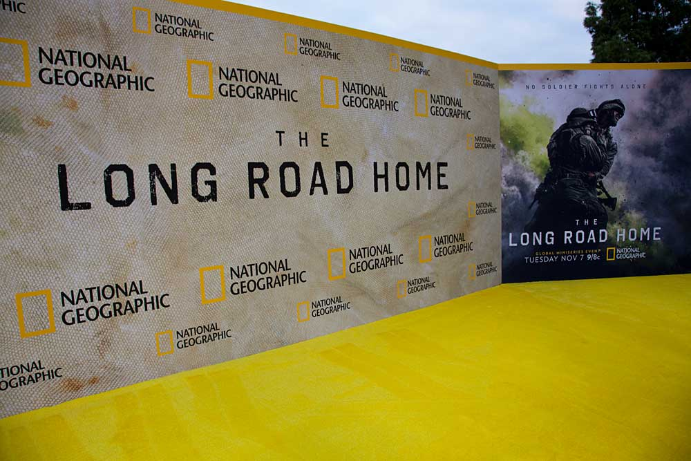 The Long Road Home Premiere