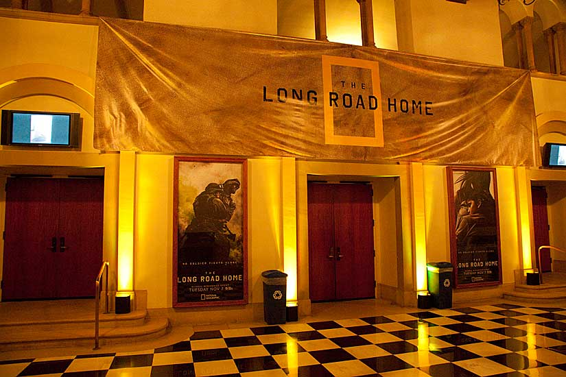 The Long Road Home Premiere, Royce Hall, UCLA