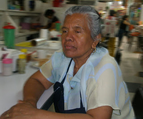 Doña Juana, the San Juan's best cook. Her stand across from La Catalana offers great pozole on Saturdays, perfect milanesas every day.