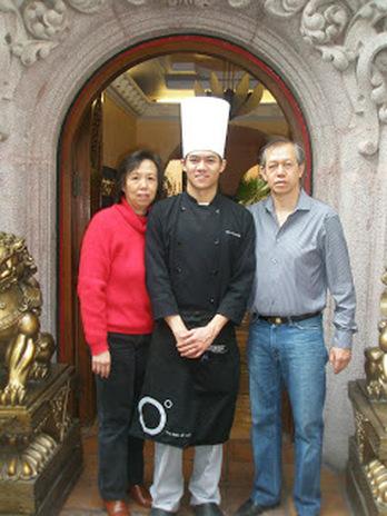 Chef Chiu y familia