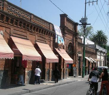 The market in Tlalpan