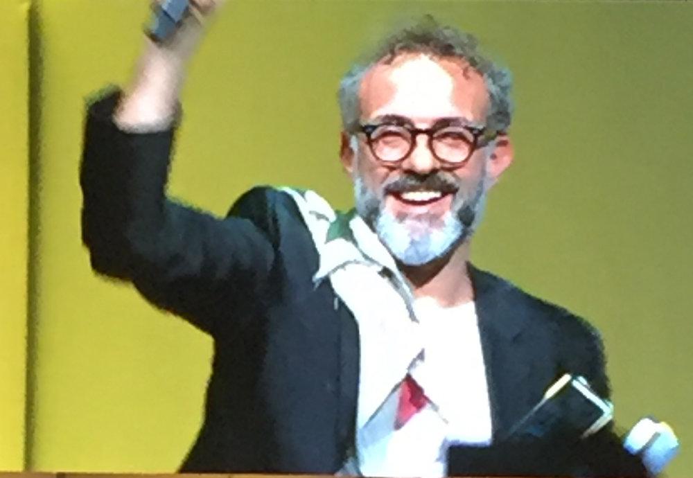 Winner Massimo Bottura