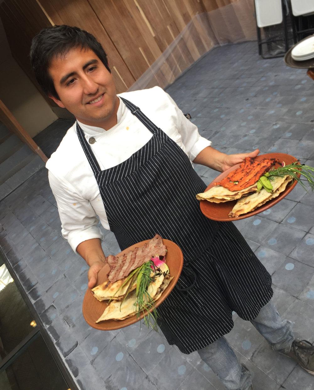 Chef Alam Méndez