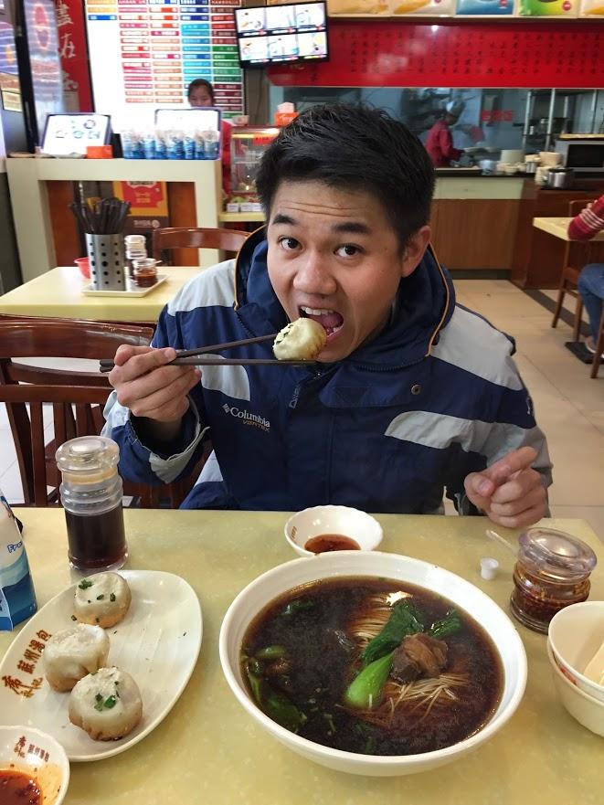 Chef Chiu in Shanghai
