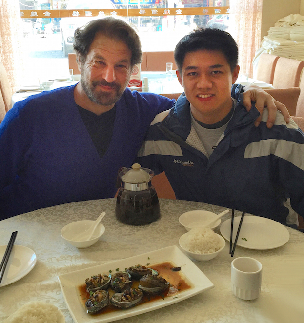 The author with Luis Chiu in Chengdu