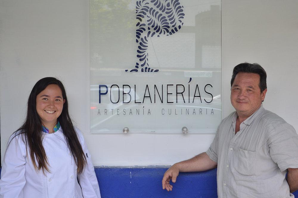 Chef Ana y su papá