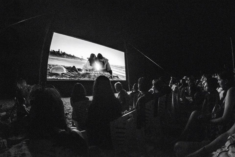 The screening of Alfonso Cuarón's Roma……………………………………………………………..photo: Camilo Henao