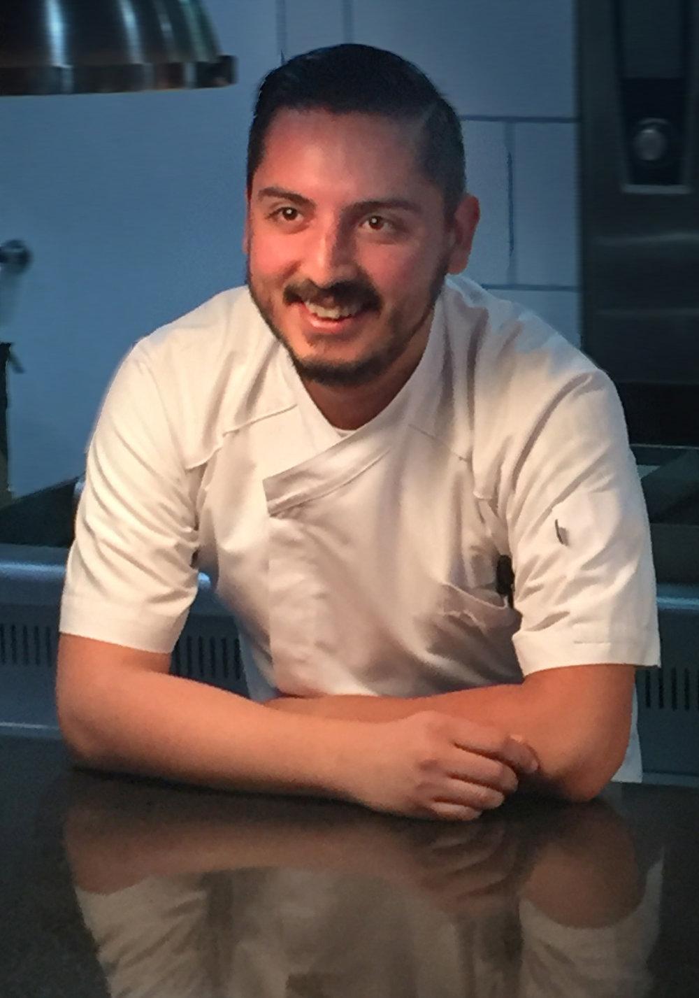 Chef César Vázquez
