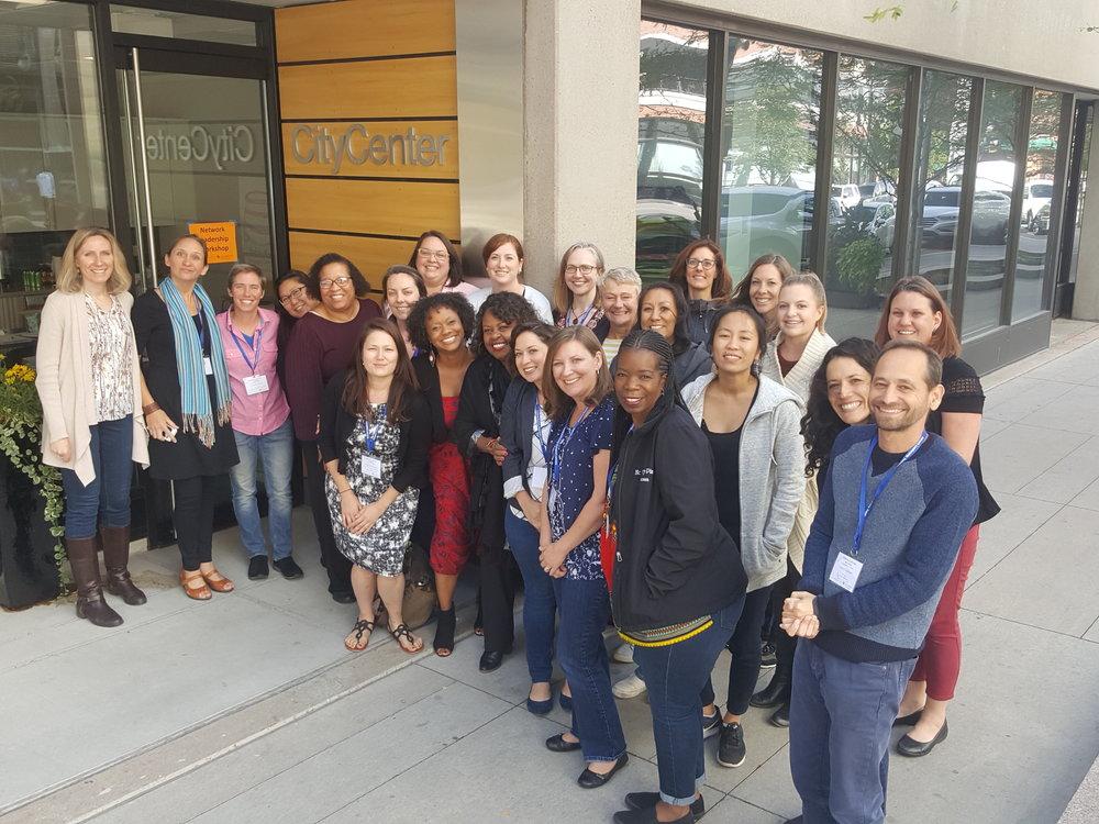 2018 Network Leadership Workshop Partcipants at City Center at University of Colorado Denver