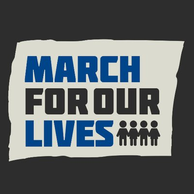 3-24-18: March for our Lives - Parkland - On March 24th, Marjory Stoneman Douglas students and members of the Parkland community alike will be standing up against gun violence and marching for our right to live. #NeverAgain will students go to school in fear. We fight for those we lost, and we march for each other.