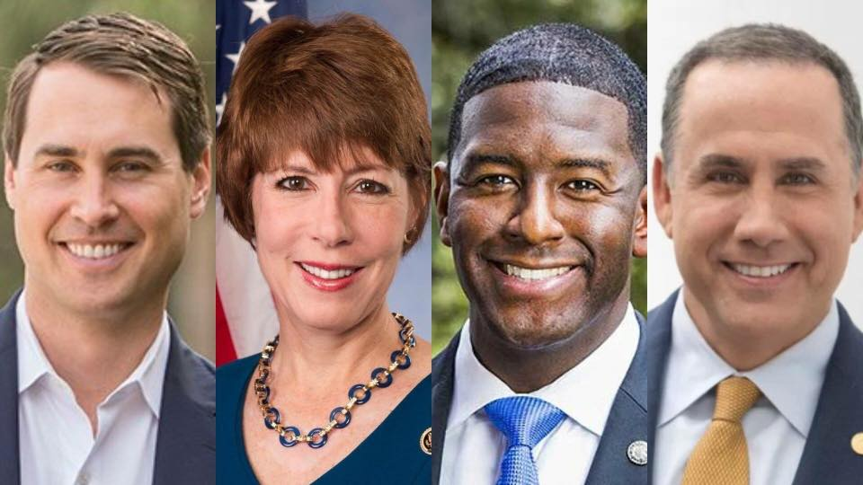 6-9-18: Florida Governor Democratic Candidate Debate Viewing Party - Join Women's March Broward as we host a viewing party for the next Florida Governor Democratic Candidates Debate on Saturday, June 9th from 6:00 PM - 8:00 PM.Four candidates have committed to participate - Andrew Gillum, Gwen Graham, Chris King and Philip Levine. The event is one of four Democratic gubernatorial primary debates scheduled for the summer; the others will be in Miramar, Fort Myers and Miami. Moderators will be Adam Smith of the Tampa Bay Times as well as Tammy Fields and Holly Gregory of Spectrum News. Some of the questions will be asked by students from Florida schools.PLEASE REGISTER AND RSVP so that we have an adequate headcount for the event and please consider a $5 DONATION per person at the door on event night to help cover the costs of the fantastic ArtServe Gallery Venue. REGISTER and RSVP HERE: https://www.eventbrite.com/e/florida-democratic-gubernatorial-debate-watch-party-tickets-46439384449Sponsors are three local grassroots organizations - Indivisible FL- 13, Fired Up Pinellas and Women's March FL.The event will be televised live and without commercial breaks by Spectrum News.