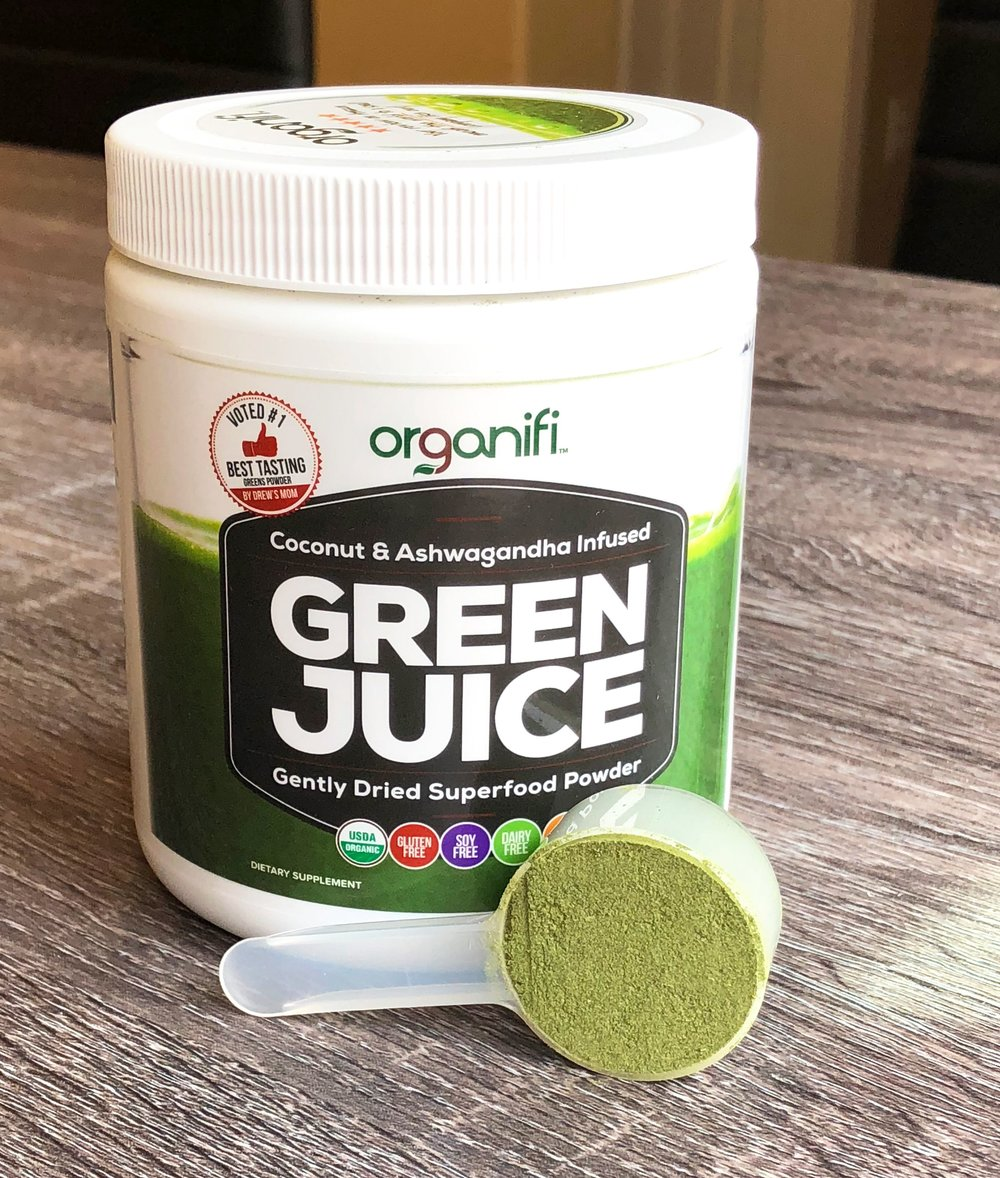 Green Juice Tub with Scoop