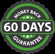 60 Day Money Back Guarentee Seal