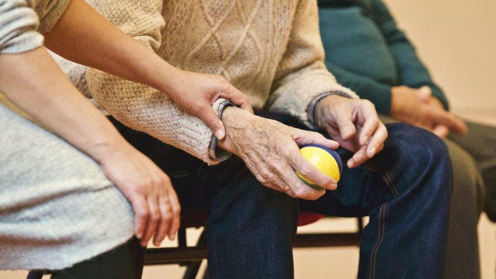 Frail Hands with Arthritis